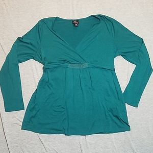 Oh baby size xl long sleeve top